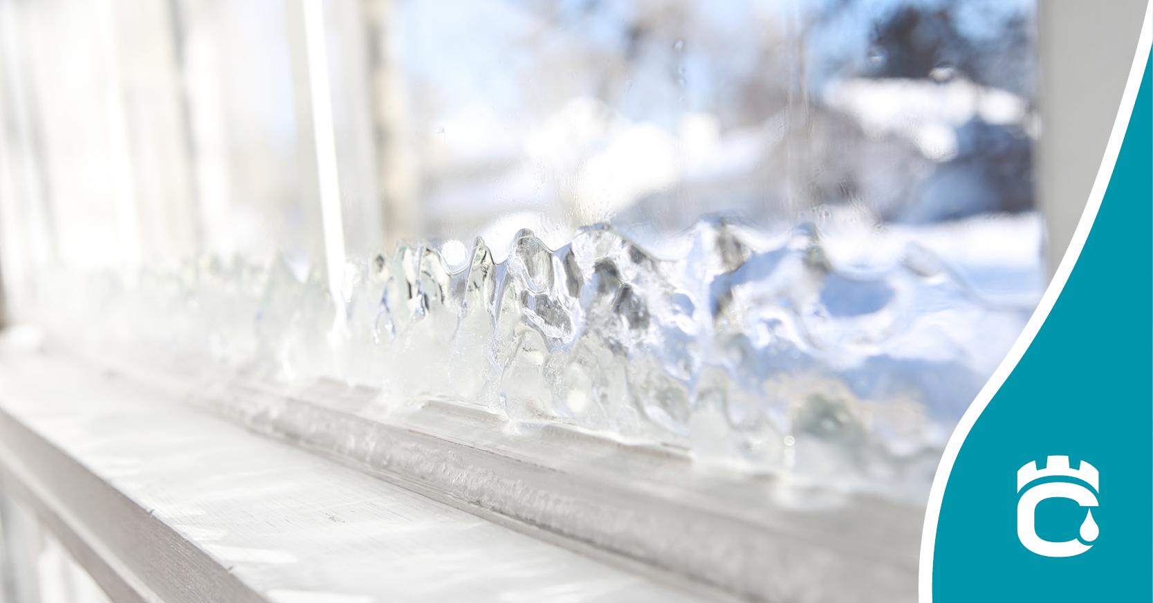 frozen wndow