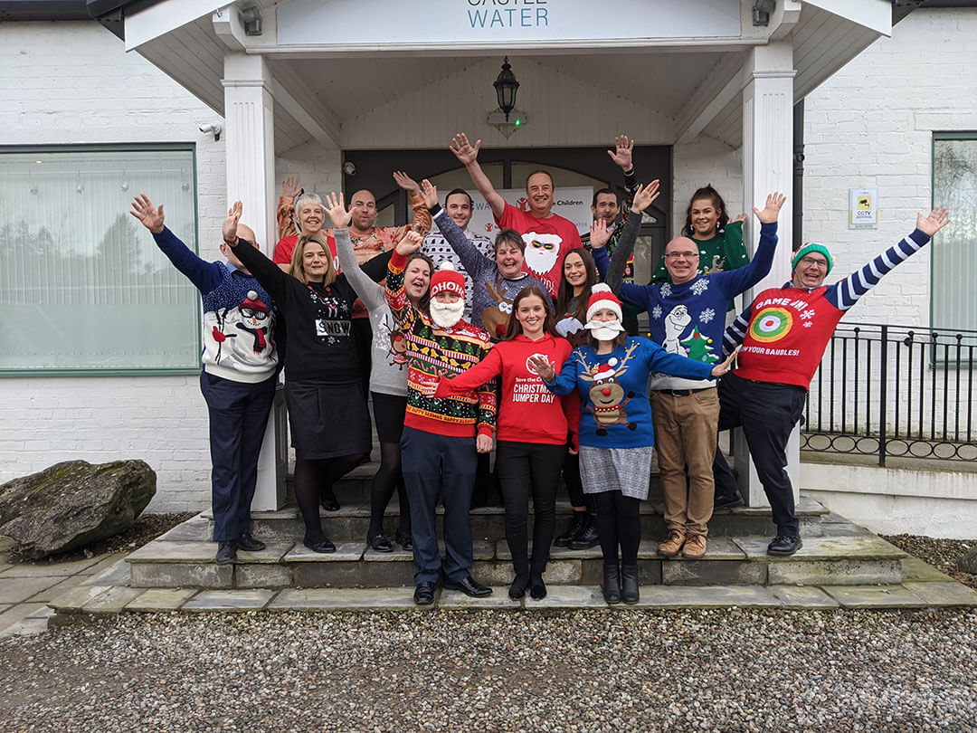 Christmas Jumper Day People