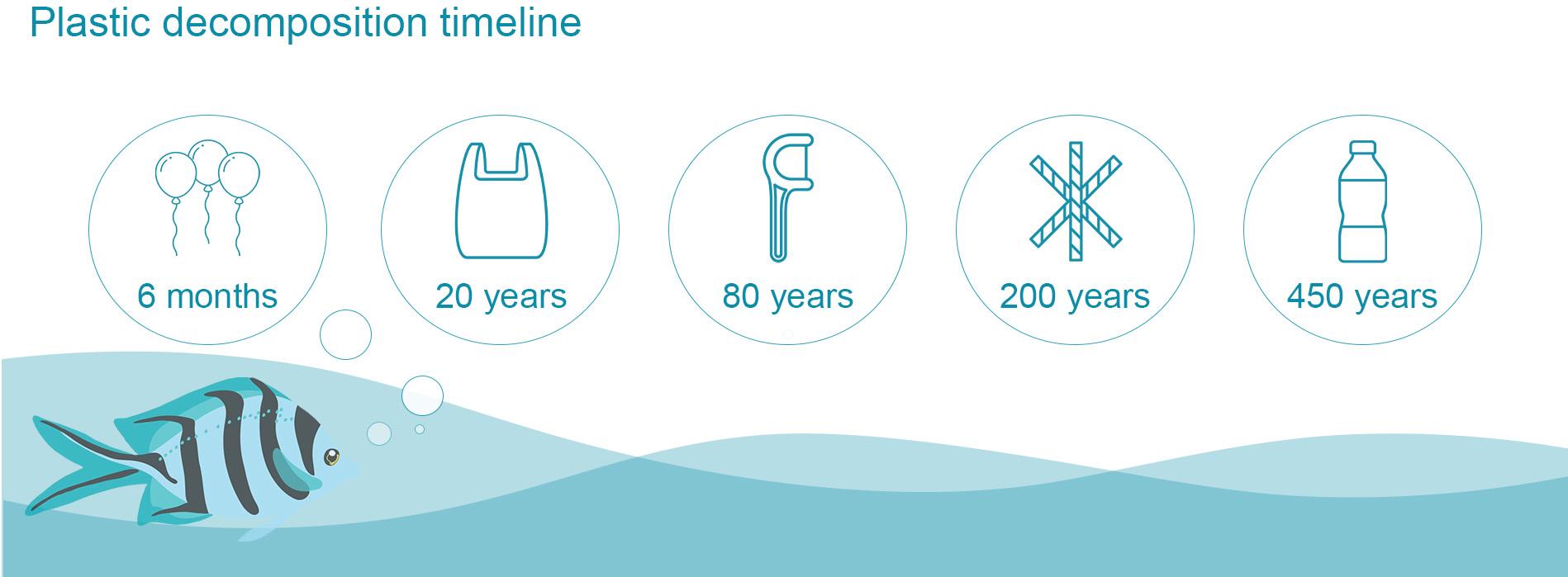 plastic decomposition timeline