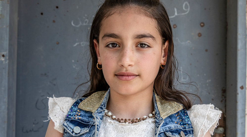 Nadia*, 11, is growing up under military occupation in the West Bank, but she refuses to give up hope.