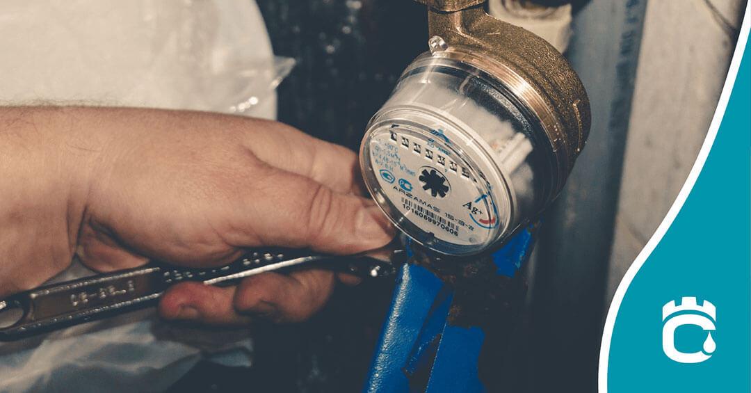 fixing water meter